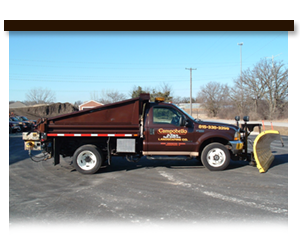Campobello Landscaping Snow Removal Truck